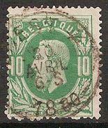 Nr. 30 Met ZELDZAME AMBULANT - Afstempeling OUEST 4 In Goede Staat ! Inzet Aan 5 € ! - 1869-1883 Léopold II