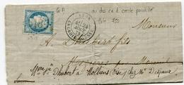 RHONE De LYON LA CROIX ROUSSE GC 6318 Sur N°60 Sur LAC Du 24/08/1873 - 1849-1876: Classic Period