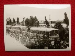 VICHY MANIFESTATION DU CIDUNATI 1971 AUTOBUS PHOTO  12.5 X 9 - Lieux