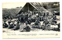 MP388 - GUERRE 1914 1917 - LES AMERICAINS EN FRANCE - LA SOUPE - War 1914-18
