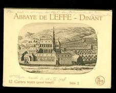 Dinant : Abbaye De Leffe -  Carnet De 12 Cartes Postales - Dinant