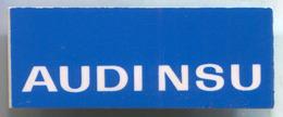 AUDI NSU - Car, Auto, Automotive, Vintage Pin, Badge, Abzeichen, D 40 X 15 Mm - Audi