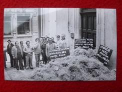 ROMANS MANIFESTANTS DU CIDUNATI AU DOMICILE DE GEORGES FILLIOUD MINISTRE  PHOTO  13 X 8.5 - Orte