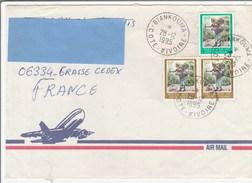 R] Enveloppe Cover Côte D'Ivoire Ivory Coast Usage Courant Definitive Oblitération Biankouma Cancellation 1995 - Côte D'Ivoire (1960-...)