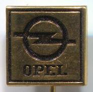 OPEL -  Car, Auto, Automotive,  Vintage Pin Badge, Abzeichen - Opel