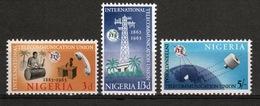 Nigeria Set Of Stamps To Celebrate The International Telecommunications Union. - Nigeria (1961-...)