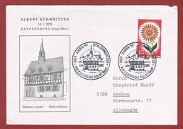 Dr Schweitzer Maison Natale Kaysersberg Bureau Temporaire 14 Jan 1965 - Albert Schweitzer