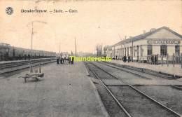 CPA DENDERLEEUW STATIE GARE STATION - Denderleeuw