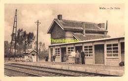 CPA  WELLE DE HALTE STATION GARE - Dendermonde