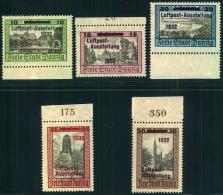 1932, LUPOSTA-Ausgabe Komplett Postfrisch. - Dantzig
