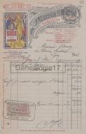 69 5879 LYON RHONE 1917 Distillerie F. MOUREAUX - H. PORTE Quai Gaolleton Et ALFORT SEINE GENTIANE SUZE - France