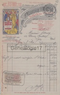 69 5879 LYON RHONE 1917 Distillerie F. MOUREAUX - H. PORTE Quai Gaolleton Et ALFORT SEINE GENTIANE SUZE - 1900 – 1949