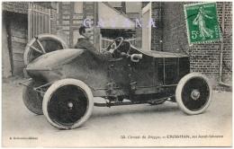 76 DIEPPE - Circuit De Dieppe - CROSSMAN Sur Arrol-Johnston    (Recto/Verso) - Dieppe