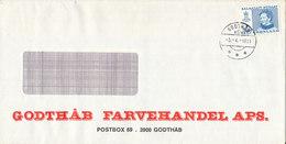 Greenland Cover Godthab 3-4-1981 - Groenlandia