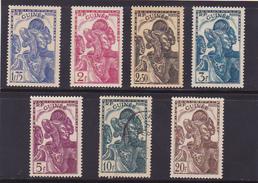 Guinée  N° 141-142-143-144-145-146-168 Neufs * (Oblit N°145) - Voir Verso - - Guinée Française (1892-1944)
