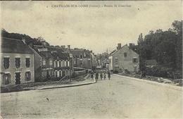 CHATILLON-sur-LOIRE - Entrée De Châtillon - Ed. Cour - Chatillon Sur Loire