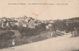 CPA 84  LA BASTIDONNE Environs De PERTUIS VUE GENERALE - France