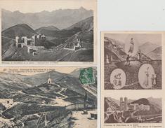 17 / 3 /  218  -   4  CPA  &  1  CPSM  DE  NOTRE  DAME  DE  LA  SALETTE - 5 - 99 Postcards