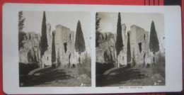 Stereofoto: Italien Trentino Arco (TN) - Castello Di Arco - Stereo-Photographie