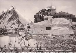 Aosta Valtournanche Cervinia Stazione Funivie Osservatorio Cosmico Fg - Italie