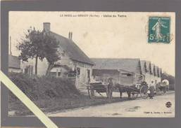 Le Breil Sur Merize - Sarthe - Usine Du Tertre, Chaux Hydraulique - Attelages - Altri Comuni
