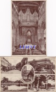 2 CPSM 9X14  D' ANGLETERRE - ST PETERS COLLEGIALE CHURCH WOLVERHAMPTON - ORGUES - VUES DIVERSES - Wolverhampton