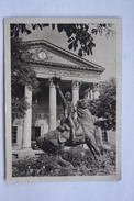 Ukraine. Odessa. Field Marshal Suvorov Monument - 1946 - Rare  Postcard - Ukraine