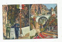 Cp , Douane , Frontiera Italiana , Ponte San Luigi , Multi Vues , Voyagée 1939 , Ed : Munier - Douane