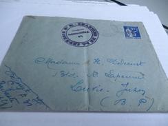 LETTRE DU CHANTIER DE JEUNESSE   CJF 31   SUPERBE CACHET - 1939-45