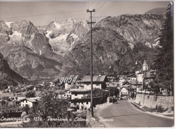 Aosta Courmayeur Monte Bianco Trasporti Carretto Mulo Fg - Italie