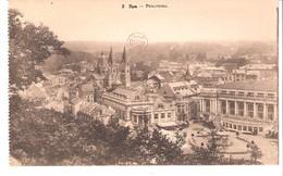 Spa (Liège)- Panorama- Belle Vue Sur La Ville Et église Notre-Dame Et Saint-Remacle-Edit.Desaix N°2 - Spa