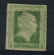 Prusse 1850 Y&T 1 (*) Réimpression - Pruisen