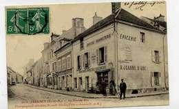 LUZANCY La Grande Rue, EPICERIE La Jeanne D'arc - Autres Communes