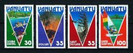 Vanuatu  Nº Yvert  731/4  En Nuevo - Vanuatu (1980-...)