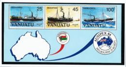 Vanuatu  Nº Yvert  HB-6  En Nuevo - Vanuatu (1980-...)