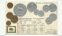 """-""""""""LA  PERSE - Monnaies  Et Pavillon Naitonal  """" !!! - Monnaies (représentations)"""