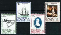 Islas Salomón  Nº Yvert  363/6  En Nuevo - Islas Salomón (1978-...)