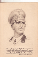 187-Cartolina Franchigia Illustrata 2^Guerra Mondiale-Umberto Di Savoia-Nuova - Guerre 1939-45