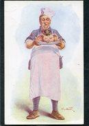 CPA - Illustration Alfred Weber - Tête De Porc - Guerre 1914-18
