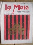 LA MOTO -Rare Revue De La Motocyclette  Janvier 1923 N°86 - GILLET - F.N. - RUSH - ACE - BEATTY Et CLAXTON - NEW HUDSON - Motor Bikes