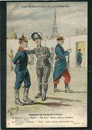 CPA - Illustration Jarry - SERIE HUMORISTIQUE DE LA GUERRE 1914 - Comment Ils Viendront à Paris ! - Guerre 1914-18