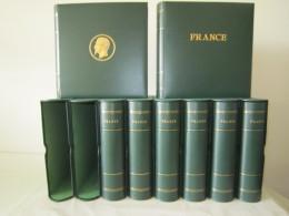 "ALBUMS CERES ""PRESIDENCE"" Avec Feuilles FRANCE 1849-2001 EN 8 VOLUMES  AVEC ETUIS ETAT NEUF - Album & Raccoglitori"