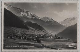 Liddes, Le Velan Et Les Maisons Blanches - Photo: Perrochet-Matile No. 3883 - VS Valais