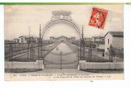 CPA-69-1912-LYON 5ème-CHEMIN DE FRANCHEVILLE-LA GRILLE MONUMENTALE DES INVALIDES DU TRAVAIL-- - Lyon