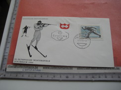 15 First Day Covers Olympic Games  - Collection Envelopes Jeux Olympique - PREMIERE Jour  1956 1960 1964 1968  1972 1976 - Jeux Olympiques