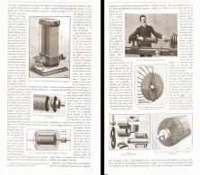 """COMMENT ON PEU CONSTRUIRE UNE """" MACHINE DYNAMO-ELECTRIQUE  """"  1887 - Technical"""