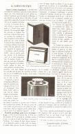 LA SCIENCE PRATIQUE ( CARNET DE VISITE IMPRIMEUR  )  1887 - Technical