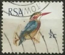 SUDAFRICA - AFRICA DEL SUR 1969 Birds. USADO - USED. - África Del Sur (1961-...)