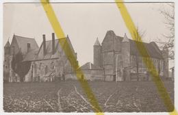 02 AISNE  SAINT NICOLAS AUX BOIS FERME DU TORTOIR Canton De TERGNIER  CARTE PHOTO ALLEMANDE MILITARIA 1914/1918 WK1 WW1 - France