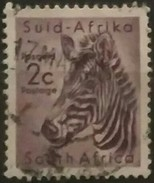 SUDAFRICA - AFRICA DEL SUR 1961 Local Animals. USADO - USED. - África Del Sur (1961-...)